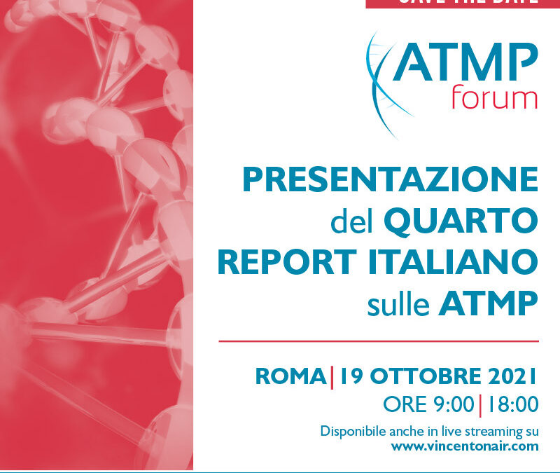 Presentazione del quarto report italiano sulle ATMP
